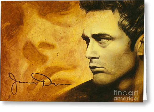 James Dean Greeting Cards - Jimmy Dean Greeting Card by Scott Spillman