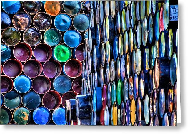 Paint Cans Greeting Cards - Jimmy Hoffa Greeting Card by Spencer McDonald