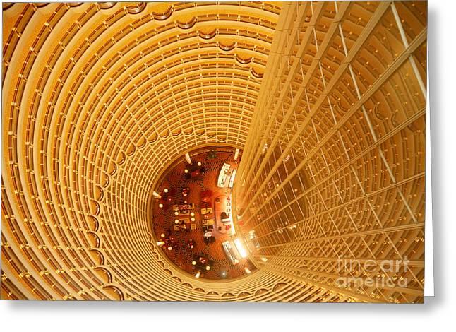 Moa Greeting Cards - Jin Mao Tower, Shanghai, China Greeting Card by Matthias Lenke