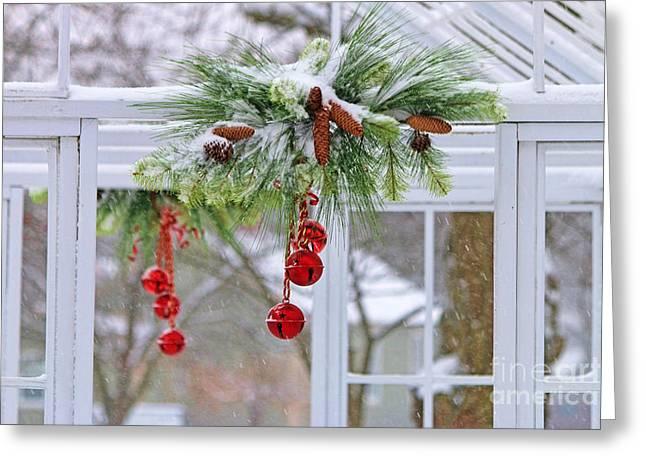 Jingle Greeting Cards - Jingle Bells 0875 Greeting Card by Jack Schultz