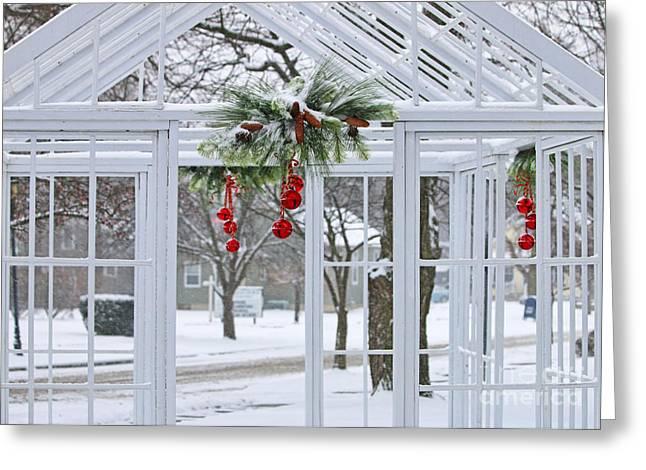 Jingle Greeting Cards - Jingle Bells 0882 Greeting Card by Jack Schultz