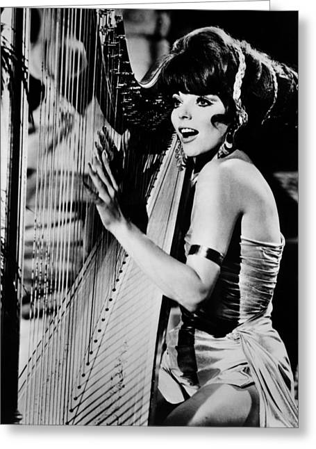 Batman Photographs Greeting Cards - Joan Collins in Batman  Greeting Card by Silver Screen