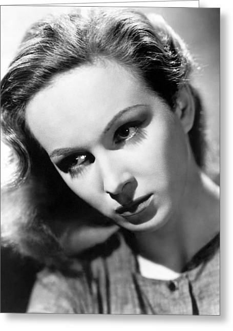 Joan Greenwood Greeting Card by Silver Screen