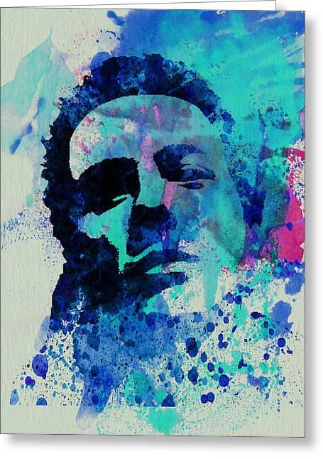 British Music Greeting Cards - Joe Strummer Greeting Card by Naxart Studio