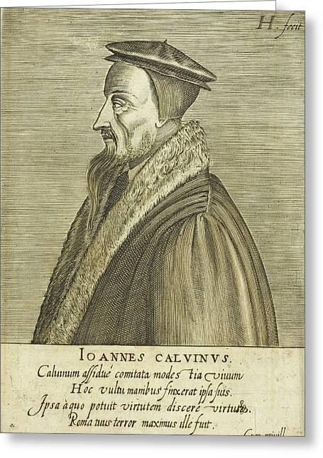 John Calvin Greeting Card by British Library
