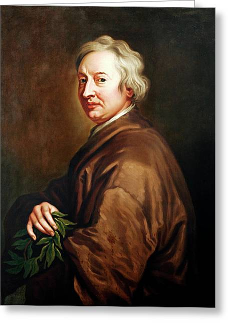 John Dryden Greeting Card by Bodleian Museum/oxford University Images