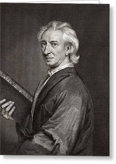 John Evelyn Greeting Card by Middle Temple Library