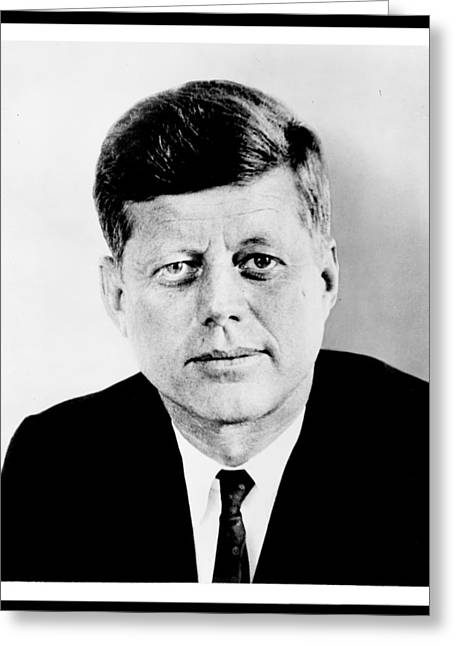 Camelot Greeting Cards - John F. Kennedy Greeting Card by Benjamin Yeager
