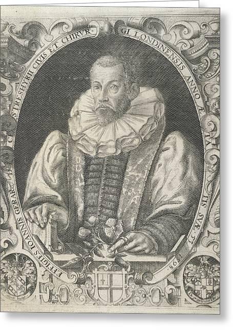 John Gerard Greeting Card by British Library