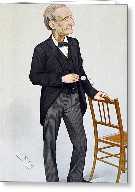Gladstone Greeting Cards - John Gladstone, British chemist Greeting Card by Science Photo Library