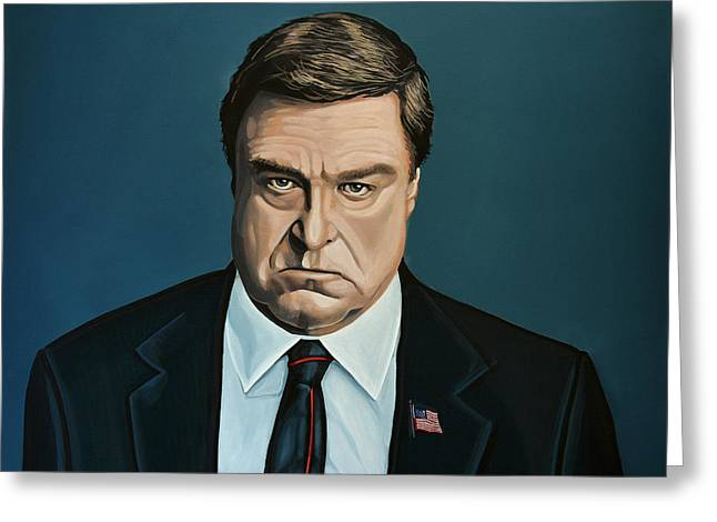 John Goodman Greeting Cards - John Goodman Greeting Card by Paul Meijering