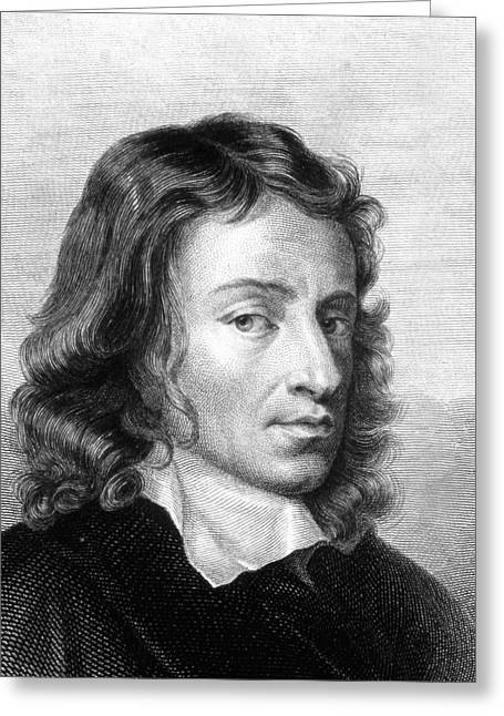 John Milton Greeting Card by Collection Abecasis