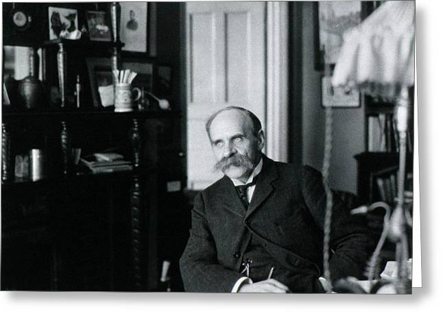 John Scott Haldane Greeting Card by National Library Of Medicine
