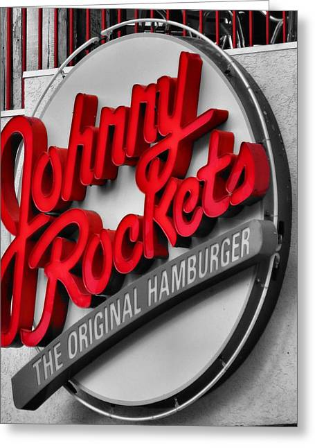 French Fries Greeting Cards - Johnny Rockets Greeting Card by Dan Sproul