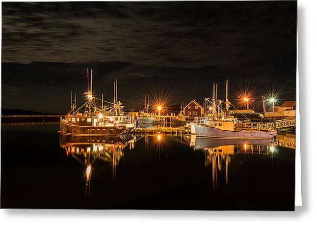 Star Burst Prints Greeting Cards - Johns Cove Reflections Greeting Card by Garvin Hunter