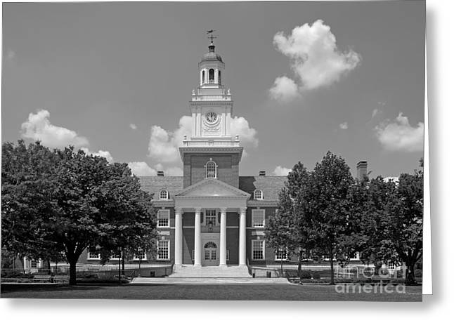 Johns Hopkins Gilman Hall Greeting Card by University Icons