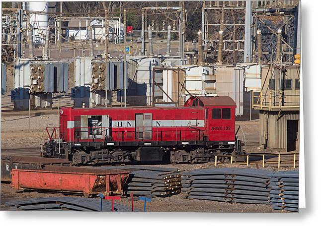 Alco Greeting Cards - Johnson Railway Alco in Cayce 3 Greeting Card by Joseph C Hinson Photography