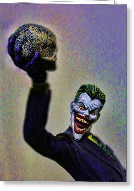 Catwoman Photographs Greeting Cards - Joker - The Jokes on You Greeting Card by Lee Dos Santos