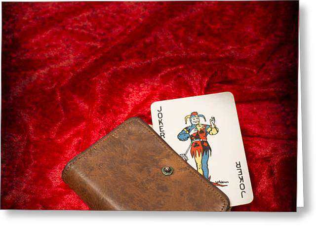 Joker Greeting Card by Amanda And Christopher Elwell