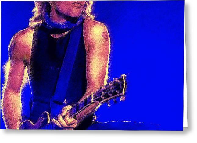 Jon Bon Jovi Greeting Card by John Travisano
