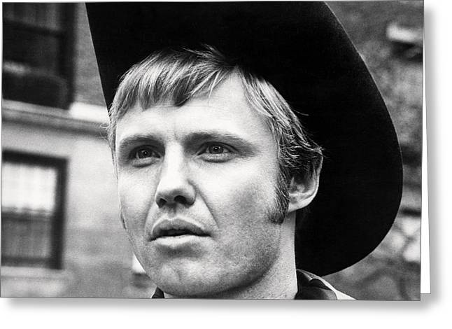 Midnight Greeting Cards - Jon Voight in Midnight Cowboy  Greeting Card by Silver Screen