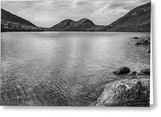 Jordan Pond Acadia National Park Maine. Greeting Card by Diane Diederich