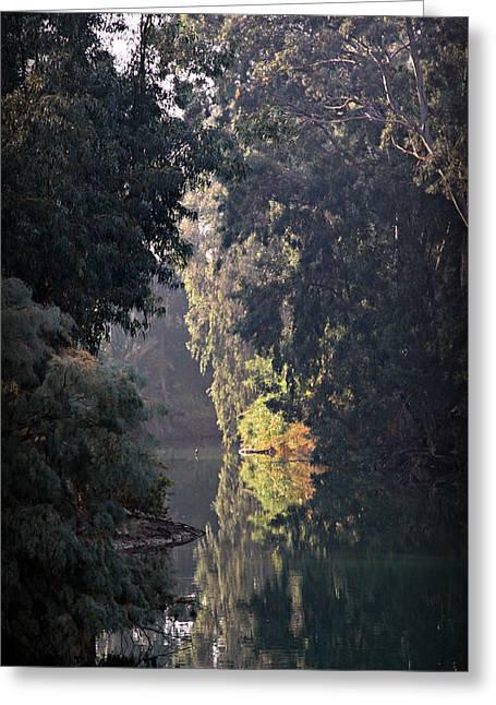 Jordan River At Yardinet Greeting Card by Stephen Stookey