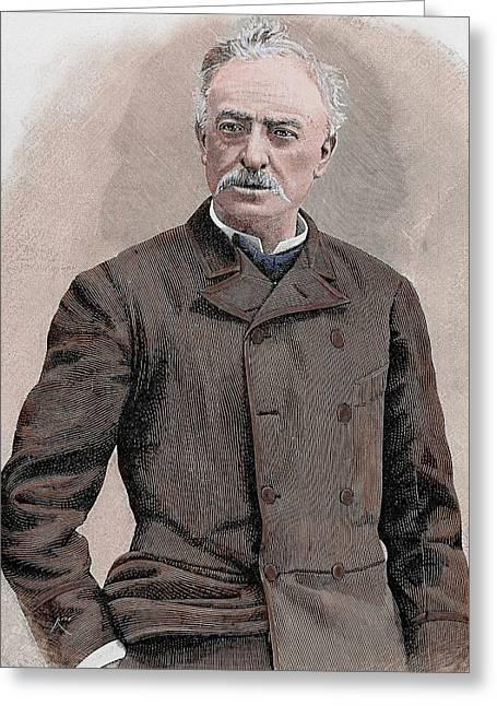 Jose Abascal Carredano (pontones Greeting Card by Prisma Archivo