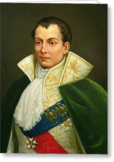 1808 Greeting Cards - Joseph Bonaparte 1768-1844 Oil On Canvas Greeting Card by Luigi Toro