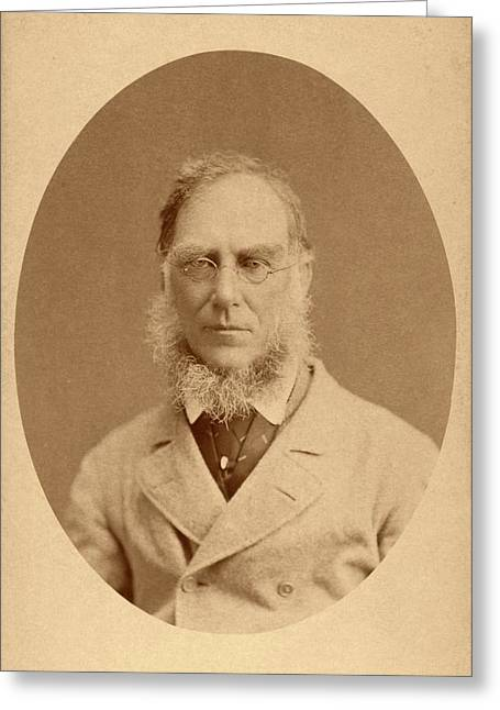 Joseph Hooker Greeting Card by American Philosophical Society