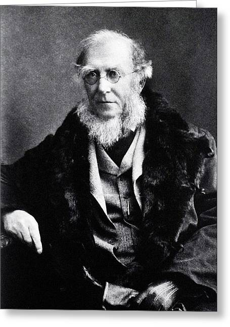 Joseph Hooker Greeting Card by National Library Of Medicine