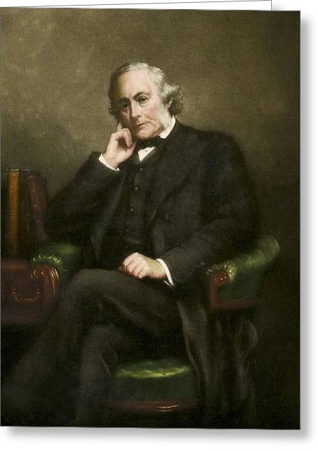 Antiseptic Greeting Cards - Joseph Lister, British surgeon Greeting Card by Science Photo Library