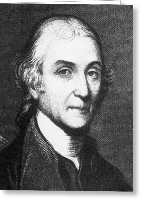 Joseph Priestley Greeting Card by Science Photo Library