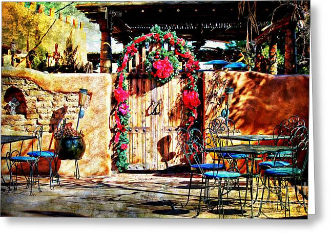 Las Cruces New Mexico Digital Art Greeting Cards - Josephinas Greeting Card by Barbara Chichester