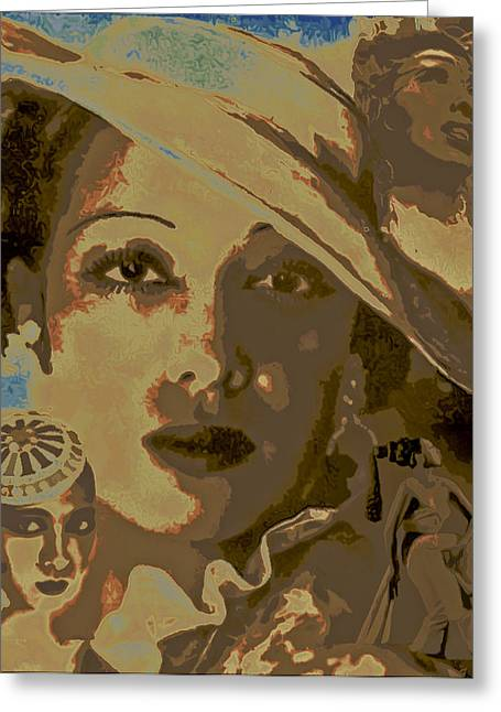 Fli Greeting Cards - Josephine Baker Story Greeting Card by  Fli Art