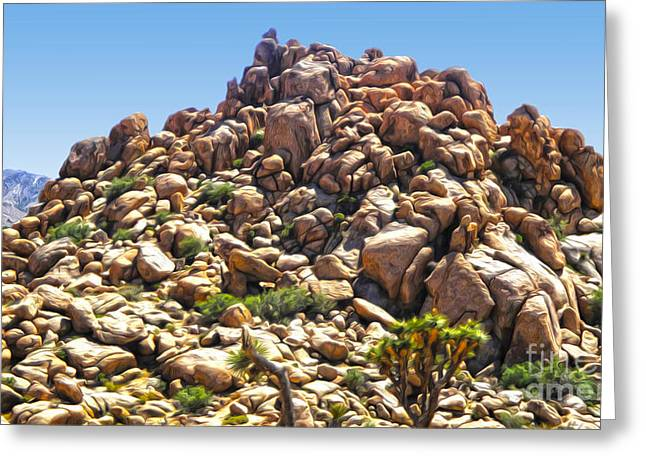 Joshua Tree - 01 Greeting Card by Gregory Dyer