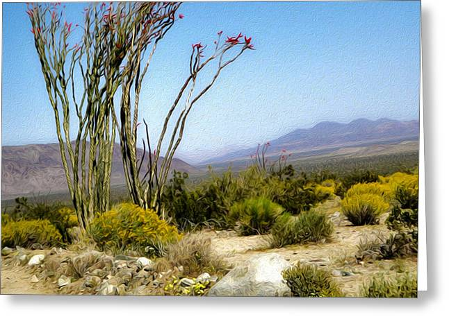 Joshua Tree - 18 Greeting Card by Gregory Dyer