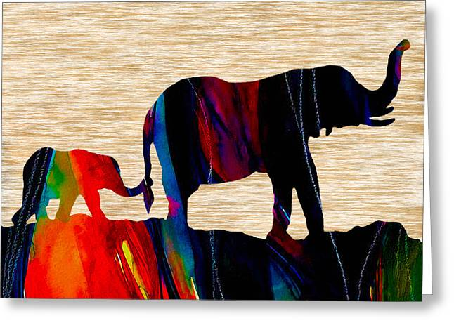 African Greeting Cards - Journey In Time Greeting Card by Marvin Blaine