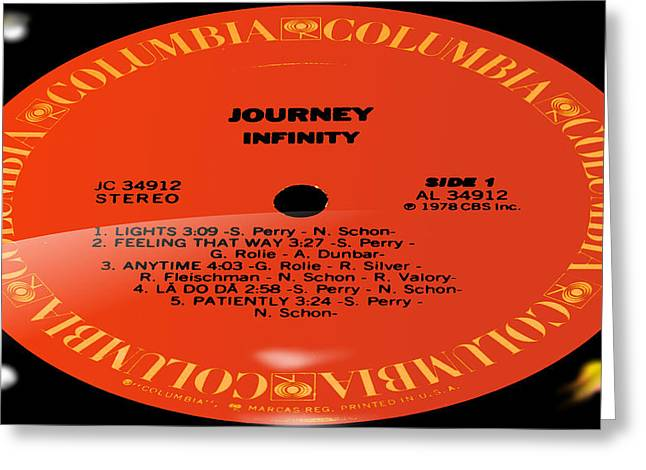 Do Something Greeting Cards - Journey - Infinity Side 1 Greeting Card by Marcello Cicchini