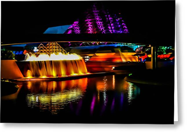 Journey Into Imagination Greeting Card by Sara Frank