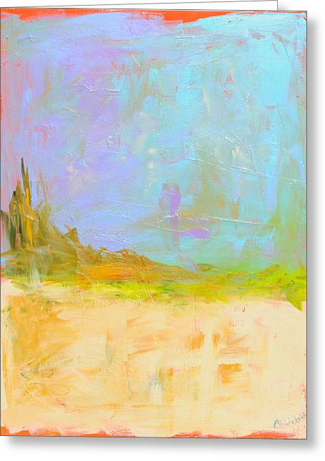 Popular Art Greeting Cards - Journey Greeting Card by Paulette B Wright