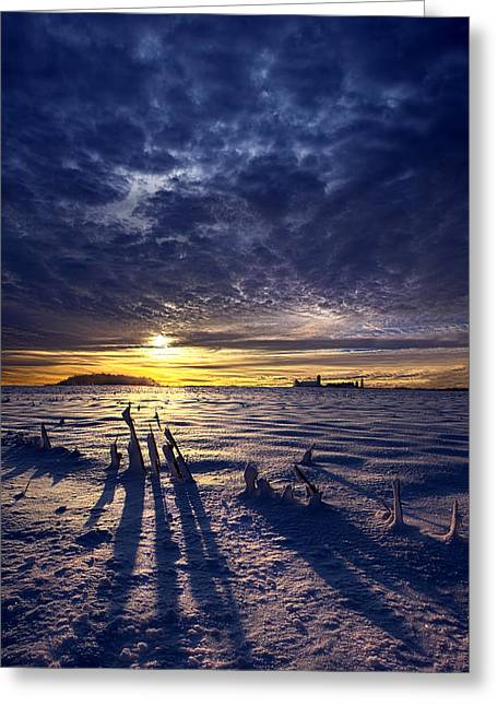 Journey Greeting Card by Phil Koch