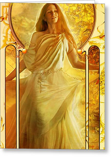 Dancing Girl Greeting Cards - Joy Faith Hope Love II Greeting Card by MGL Meiklejohn Graphics Licensing