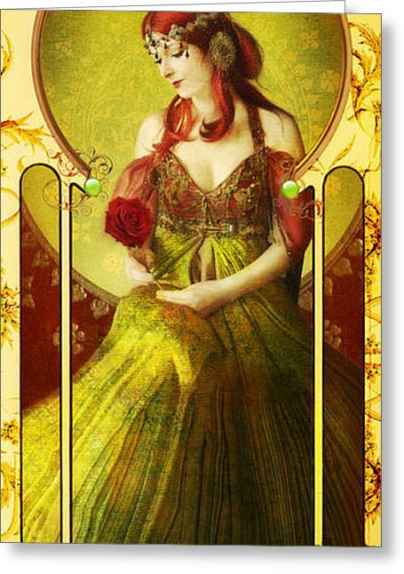 Dancing Girl Greeting Cards - Joy Faith Hope Love IV Greeting Card by Aimee Stewart