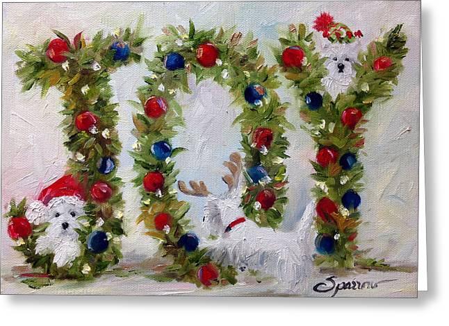 Mssmith Greeting Cards - Joy Greeting Card by Mary Sparrow