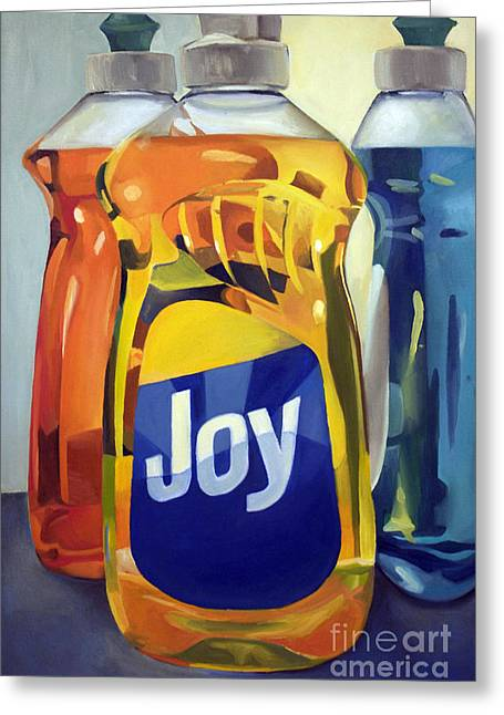 Joy Greeting Card by Jayne Morgan