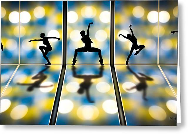 Modern Dance Greeting Cards - Joy Of Movement Greeting Card by Bob Orsillo
