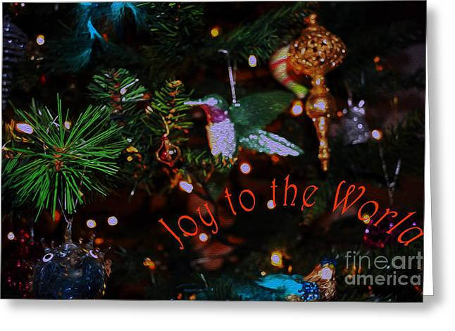 Odalisque Photographs Greeting Cards - Joy to the World Greeting Card by Cassandra Buckley