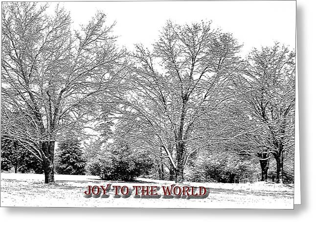 Joy To The World Greeting Cards - Joy To The World Greeting Card by Lydia Holly