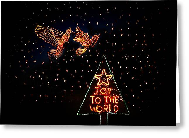 Joy To The World Greeting Cards - Joy To The World Greeting Card by Terry Fleckney